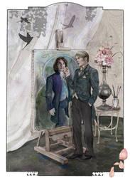 Hannibal Dorian Gray AU by theseavoices