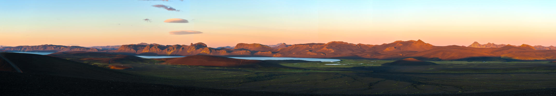 panorama sunset by icelander66