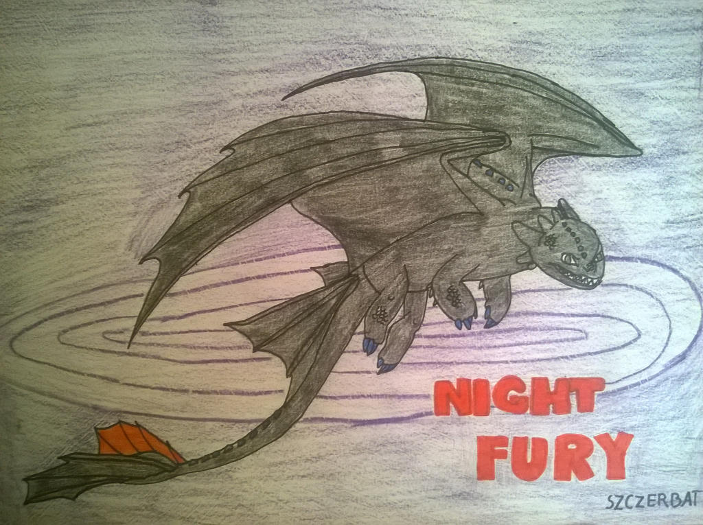 Night Fury by Giest13