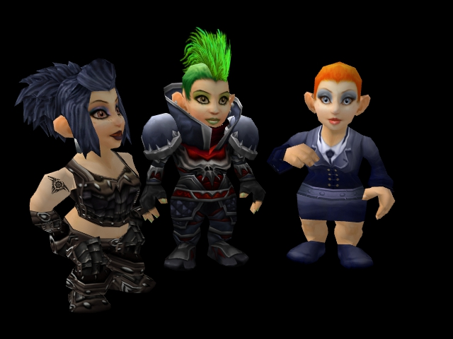 Punk Gnomettes by Pinkhair3d