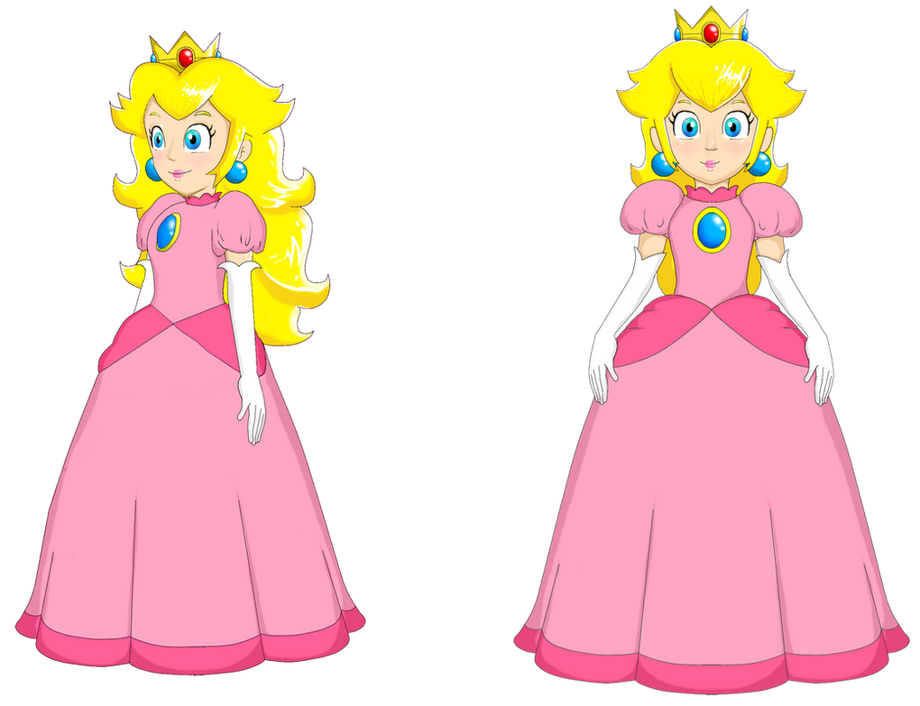 Princess Peach Animation Doll Puppet By Webkinzspongebob