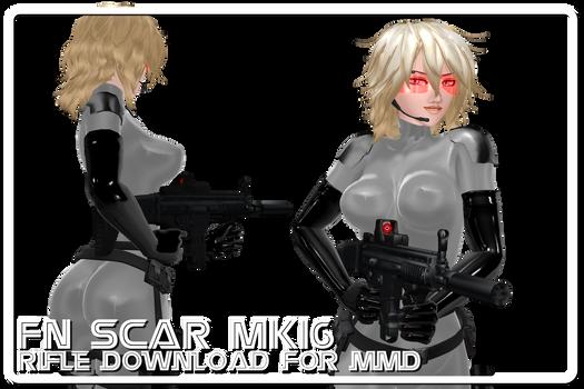 [MMD] MK16 Fn SCAR-L Rifle Download