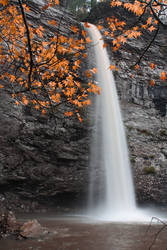 Rockhouse Creek Falls by Silverarrow13