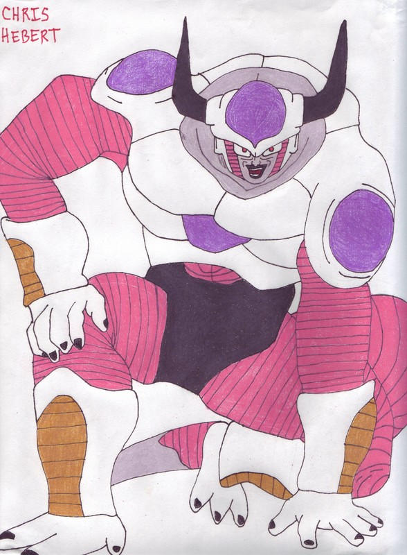 Frieza 2nd Form by Dr-Anime on deviantART