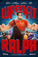 Wreck It Ralph Poster by mossears227