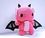 Pink Dragon by tinyowlknits