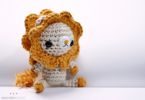 Lion Plush 02 by tinyowlknits