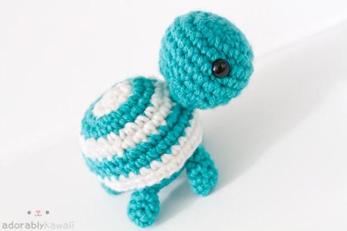 Knitting Patterns Turtle Toy : Striped Turtle by tinyowlknits on DeviantArt