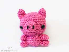 Pig by tinyowlknits