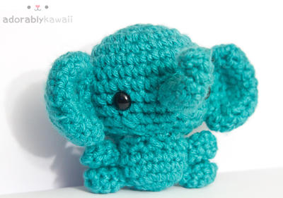 Blue Elephant by tinyowlknits