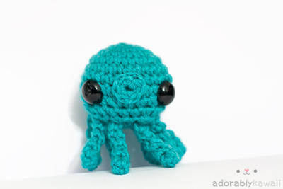 Blue Octopus 2 by tinyowlknits