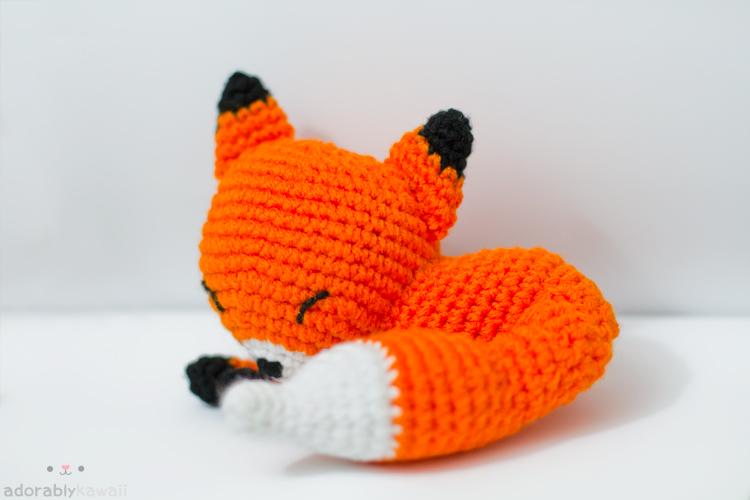 sleepy fox 2 by tinyowlknits on DeviantArt