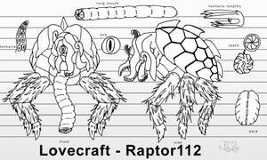 Lovecraft - Turnaround Comission   IngoLingo
