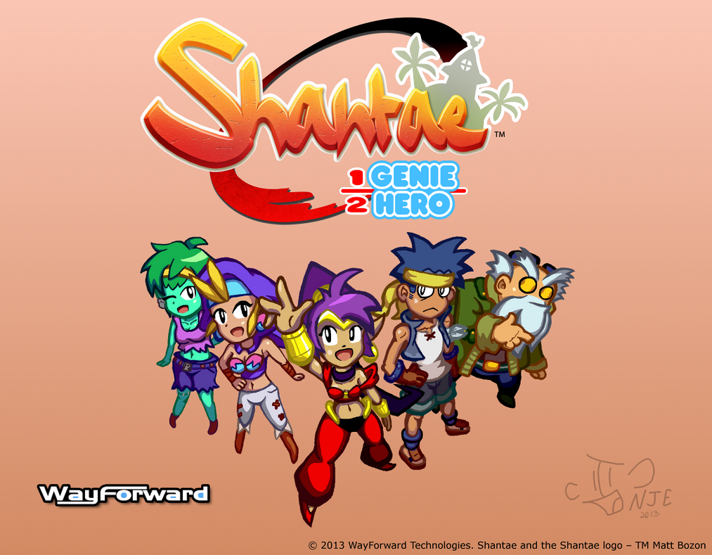Shantae: Half-Genie Hero - Contest Entry by IngoLingo on ...