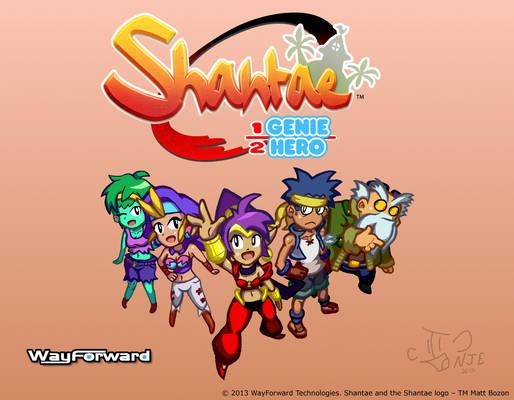 Shantae: Half-Genie Hero - Contest Entry