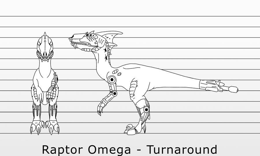 Raptor Omega Turnaround Commission by IngoLingo