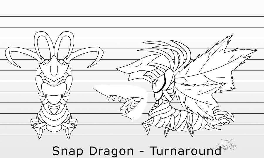 Snap Dragon Turnaround Commission by IngoLingo