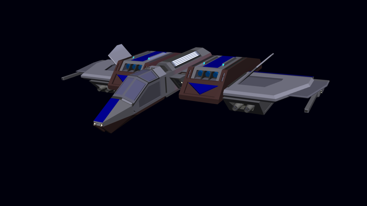 Earth forces Z-48 bomber