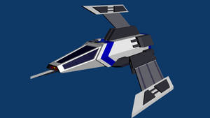 Templar Flight AM-1f combat shuttle