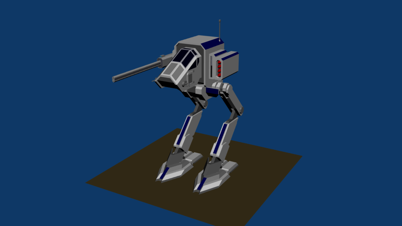 Imperial Armor IN-1 Infanty Support Light Mech