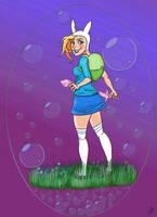 Purple Bubble by joliegirl1