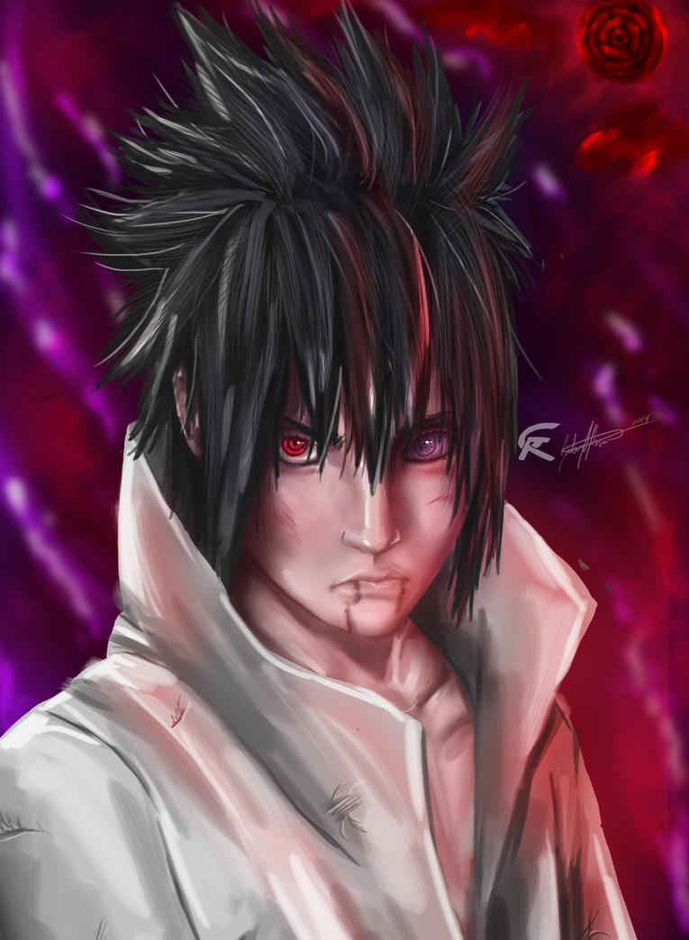 sasuke uchiha rinnegan by gscratcher on deviantart