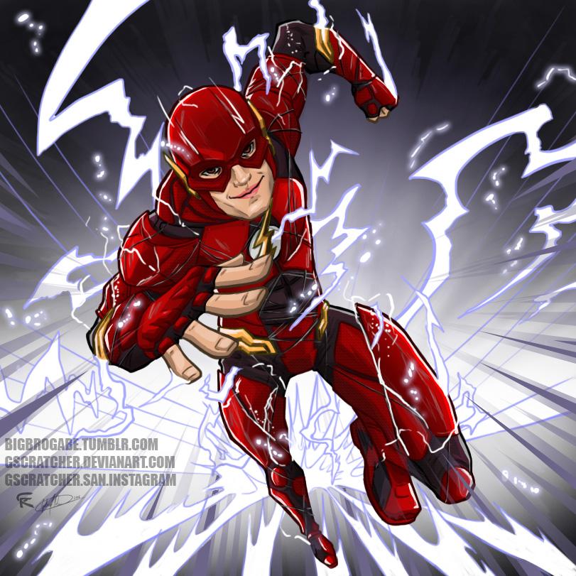 The Flash Artwork