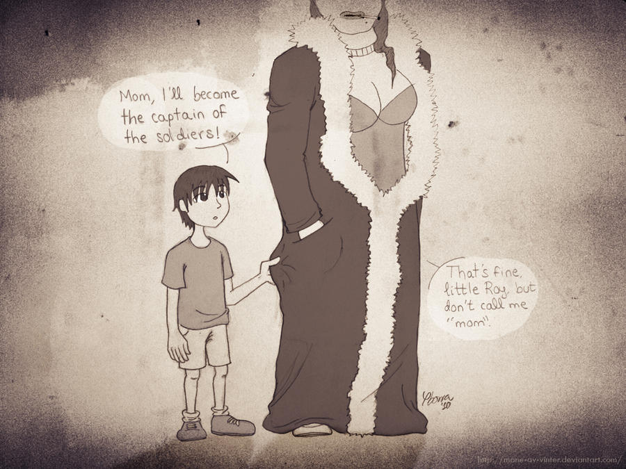 Little Roy and his creepy mom by mane-av-vinter on DeviantArt
