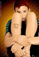 Injured Boy by alpio