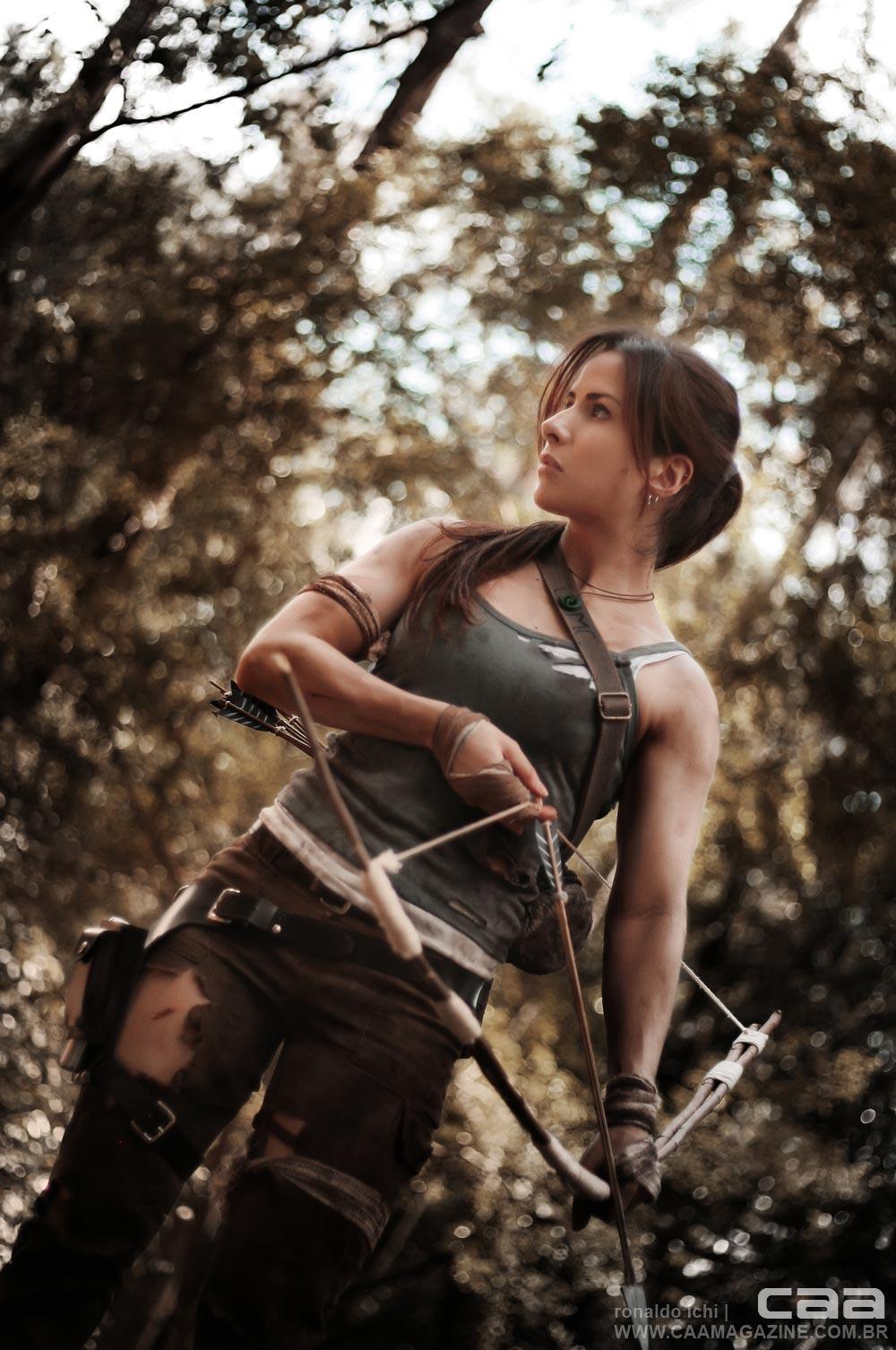 Lara croft topless exploited scene