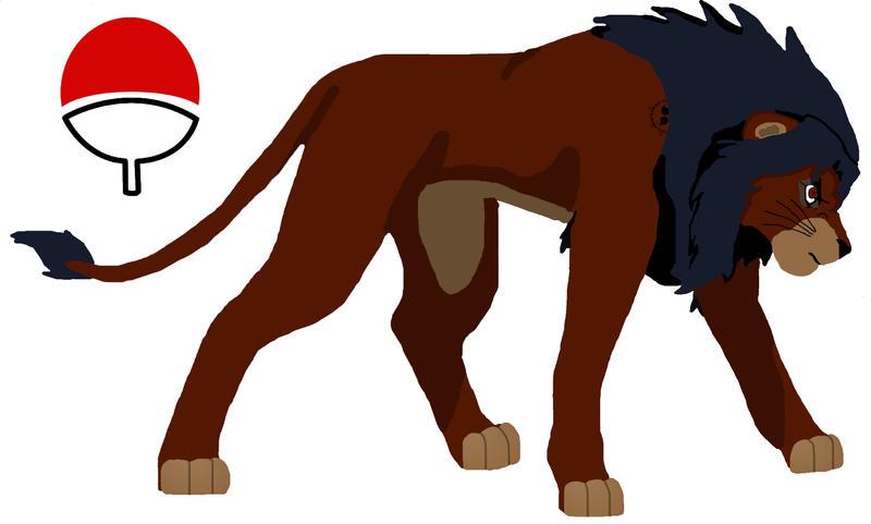 Sasuke lion by LonewolfshadowUchiha