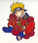 Naruto vulpix glomp