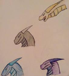 Dragons by Dragonstar40