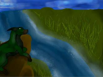 Grassland Dragon by Dragonstar40
