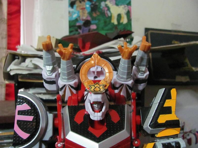 Tiger Drill Megazord by ZeldaTheSwordsman on DeviantArt