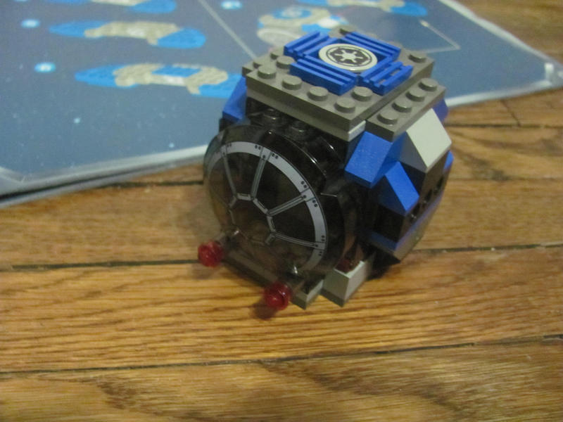 how to build a lego tie fighter