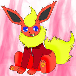 Inferno The Flareon by widwan