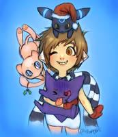 Merry Pokemas! by maffy-pop