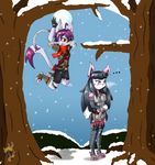PkmnKA: Lesson 11: Snowball fight
