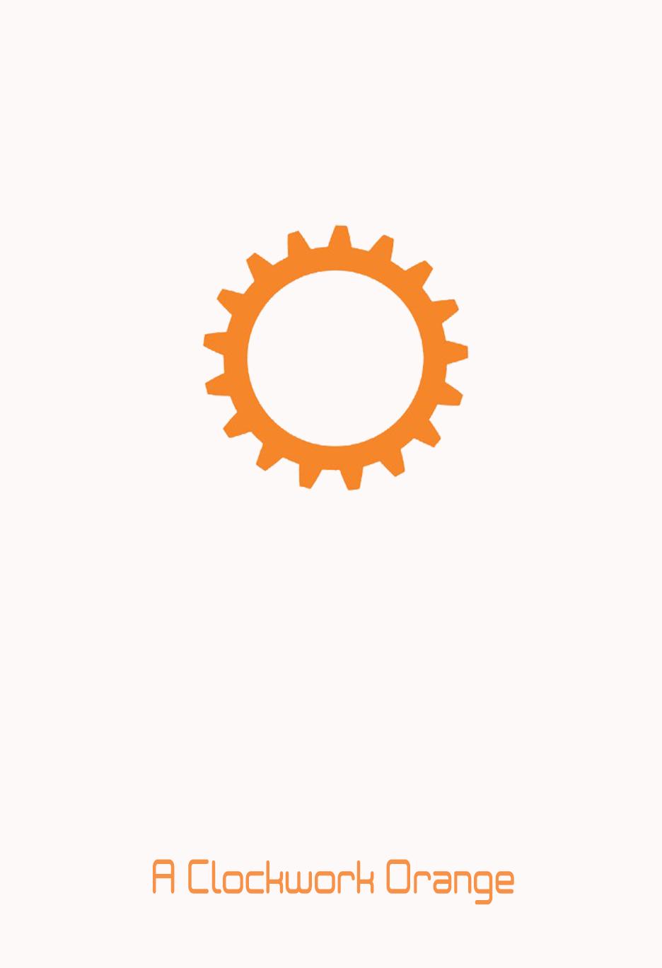 clockwork orange minimalist 1920x1200 - photo #31
