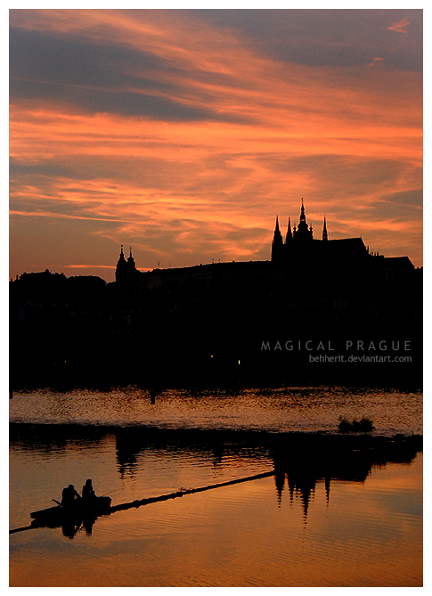 XCIV. ..Magical Prague by behherit