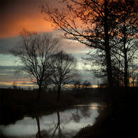 CLXVI. ..sunset II. by behherit