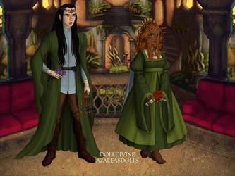 Celebrimbor and Narvi for Lidsworth by Nelyasun