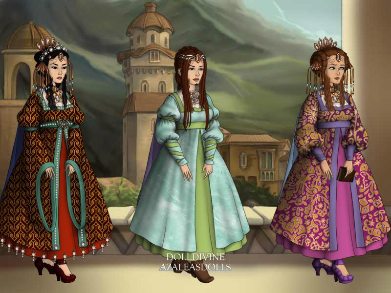 Empress in three generations by Nelyasun