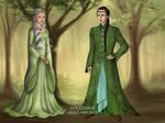 Elrond and Celebrian Wedding