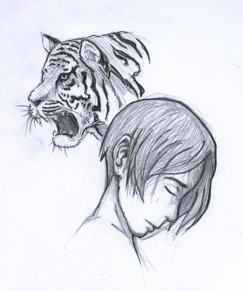 Jake the Tiger by titanictane