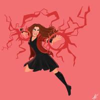 4 Days Left: Scarlet Witch by xxiiCoko