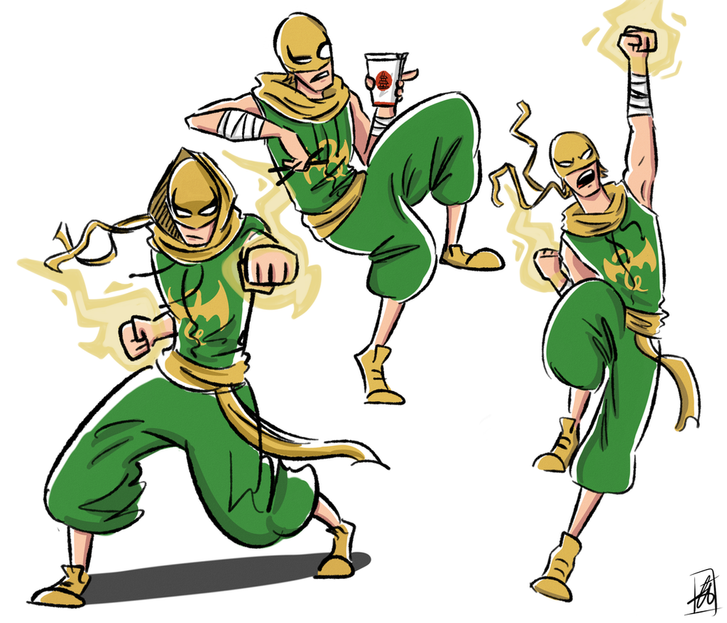 Iron Fist Costume Design by xxiiCoko on DeviantArt