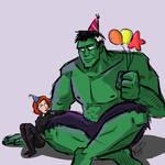 Happy Birthday Hulk and Black Widow (2015)