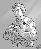 Star Wars: Poe Dameron by xxiiCoko